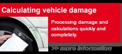 Calculating vehicle damage